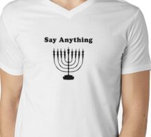 Menorah Majora Mens V-Neck T-Shirt