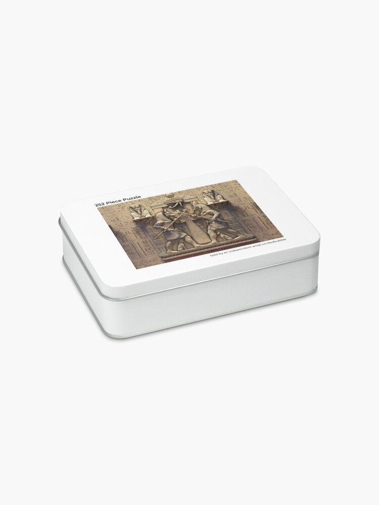 Alternate view of Egyptian Gods Jigsaw Puzzle
