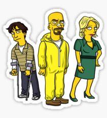 The White Family: Breaking Bad Sticker