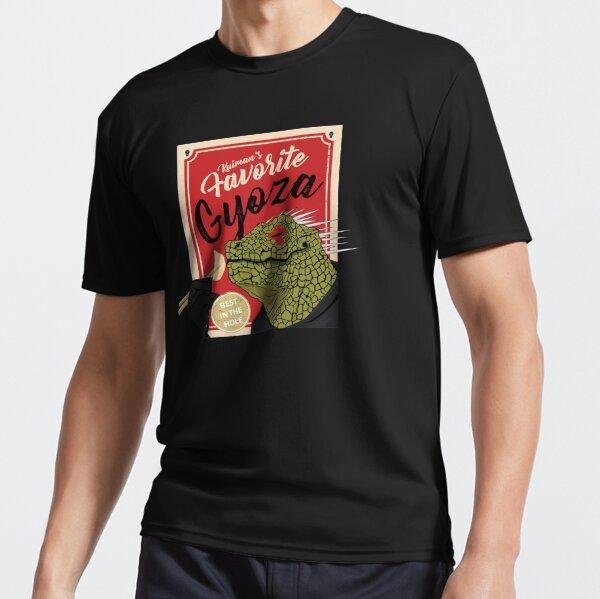 Dorohedoro anime Kaiman mangeant Gyoza T-shirt respirant