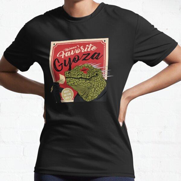 Dorohedoro anime Kaiman eating Gyoza Active T-Shirt