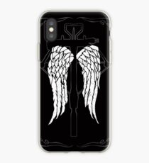Daryl Dixon wings crossbow iPhone Case