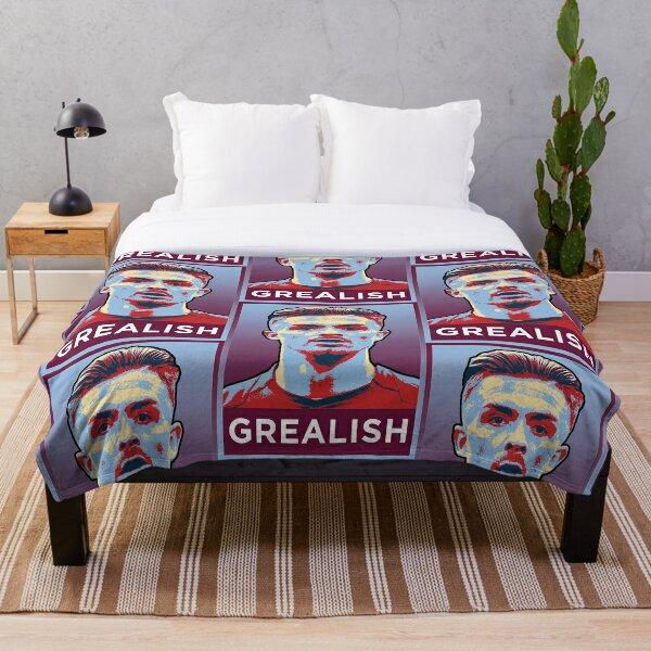 Jack Grealish Artwork Throw Blanket
