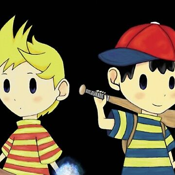 Lucas and Ness by ninjasTopHat