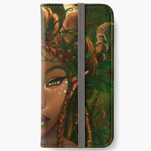 Queen of the Forests iPhone Wallet