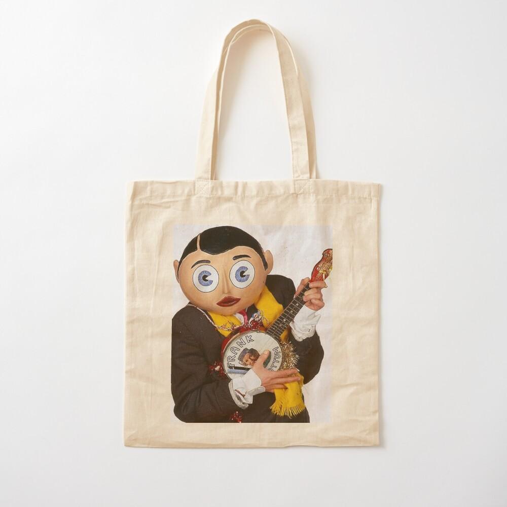 Frank Sidebottom Talk To Frank Comedian Chris Sievey Comic Persona Drug Parody Unofficial Cotton Tote Bag Shopper