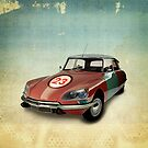 CITROEN DS NUMBER 23 by Vin  Zzep