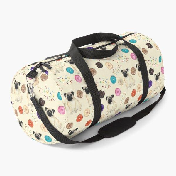 Pug Dog Pattern Duffle Bag