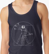 Camisetas de tirantes para hombre Vetruvian Rock Star