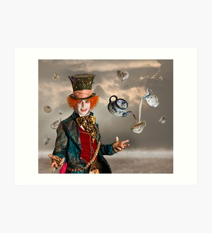 Mad Hatters Tea Party Art Print