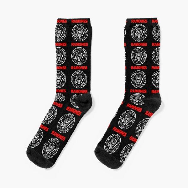 Ramones Logo Socks