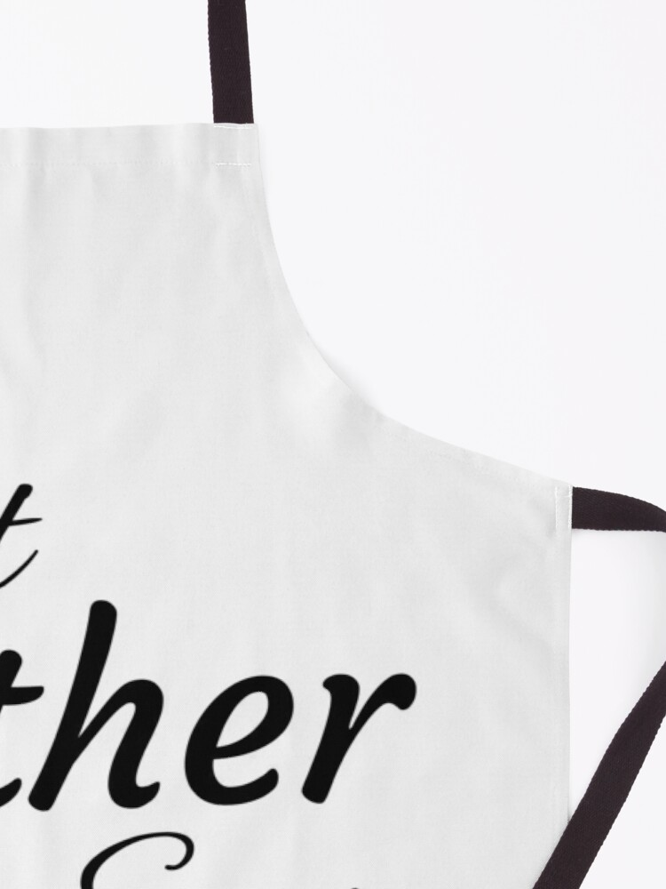 Alternate view of Best Father Ever Apron