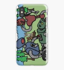 Teddy Bear And Bunny - Cannibals iPhone Case/Skin