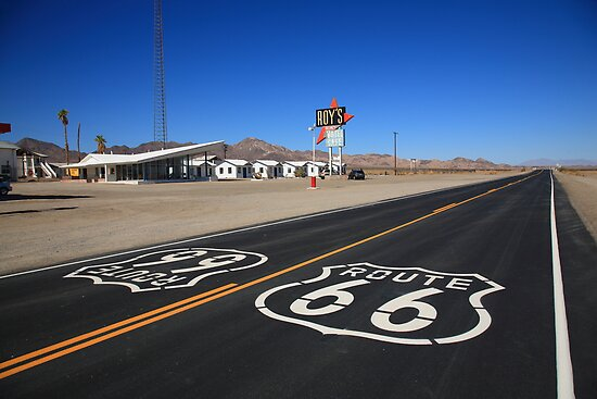 Route 66 Shield by Frank Romeo