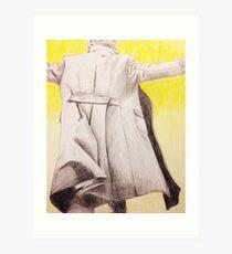 the reichenbach fall Art Print
