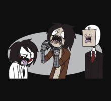 Creepypasta Funny Faces | Unisex T-Shirt