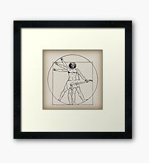 Vetruvian Rock Star  Framed Print
