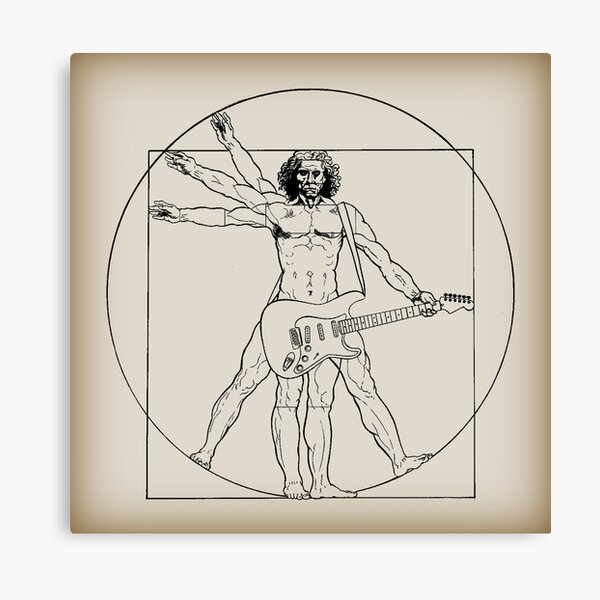Vetruvian Rock Star  Canvas Print