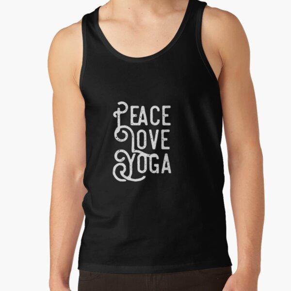 Peace, love, yoga Tank Top