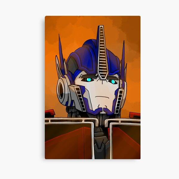 TFP Optimus: War Canvas Print