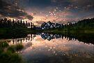 Picture Lake Awakening by Dan Mihai