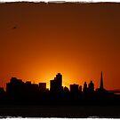 Golden Sunset by Stella Day