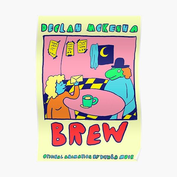 'Brew' Declan Mckenna Poster Poster