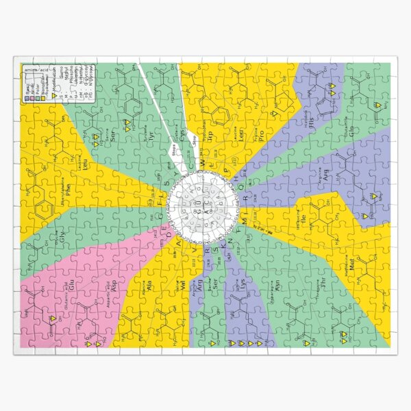 The Genetic Code Jigsaw Puzzle