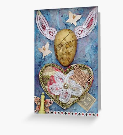 Love is a gamble Greeting Card