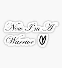 Warrior Heart Sticker