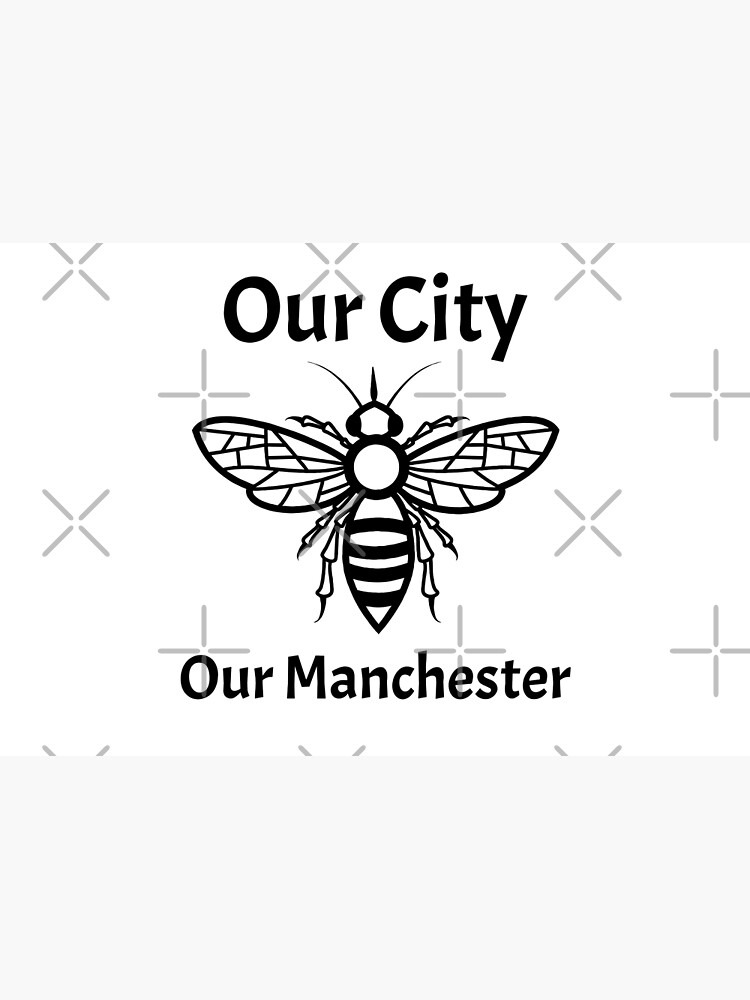 Our City, Our Manchester Bee by tribbledesign