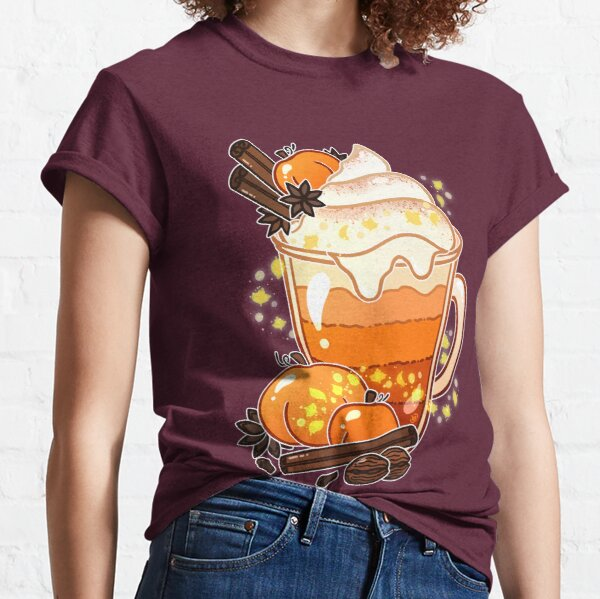 Autumn Magic Pumpkin Spice Latte Classic T-Shirt