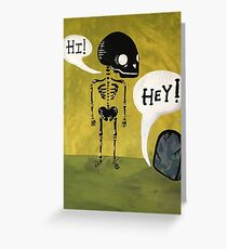 Bored to Death Greeting Card
