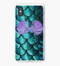 Mermaid Scales & Shell Bra iPhone Case