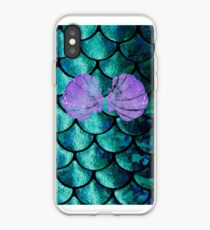 Mermaid Scales & Shell Bra iPhone Case