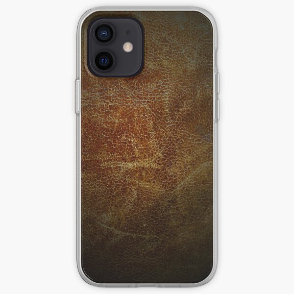 Vintage leather iPhone Soft Case