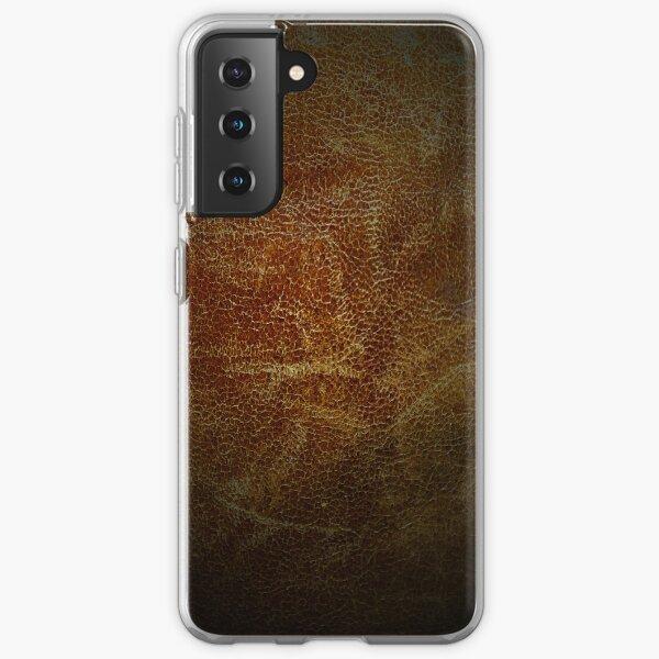 Vintage leather Samsung Galaxy Soft Case