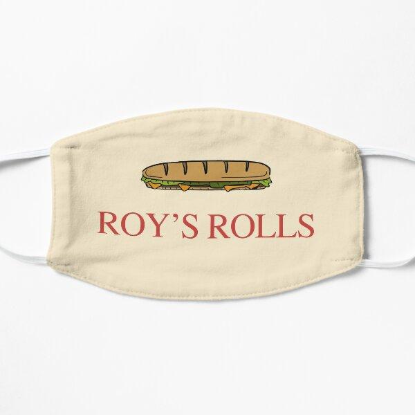 Roy's Rolls Cafe Flat Mask