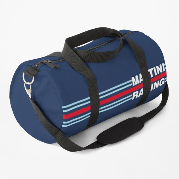 Martini Racing horizontal stripe Duffle Bag