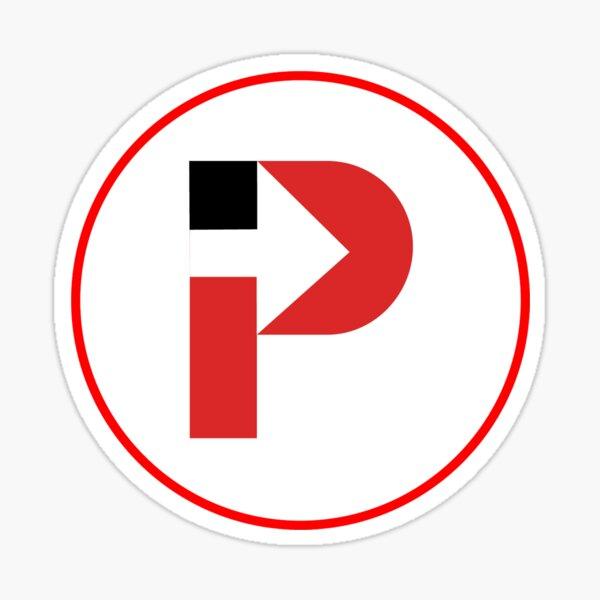 Intern Pursuit Circular Logo Sticker