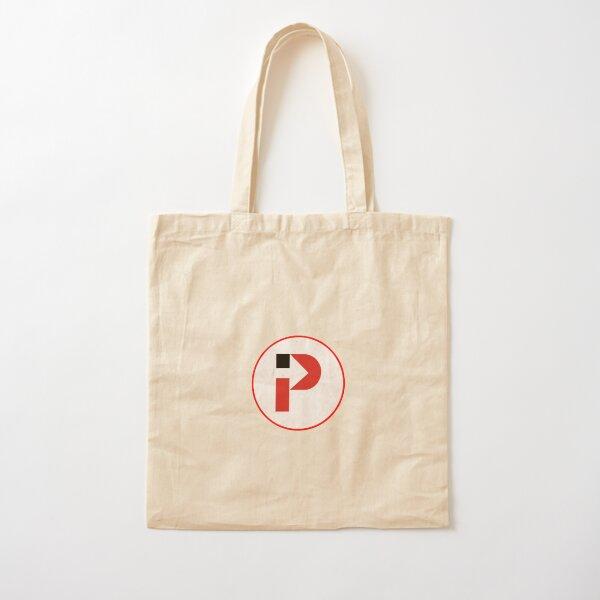 Intern Pursuit Circular Logo Cotton Tote Bag
