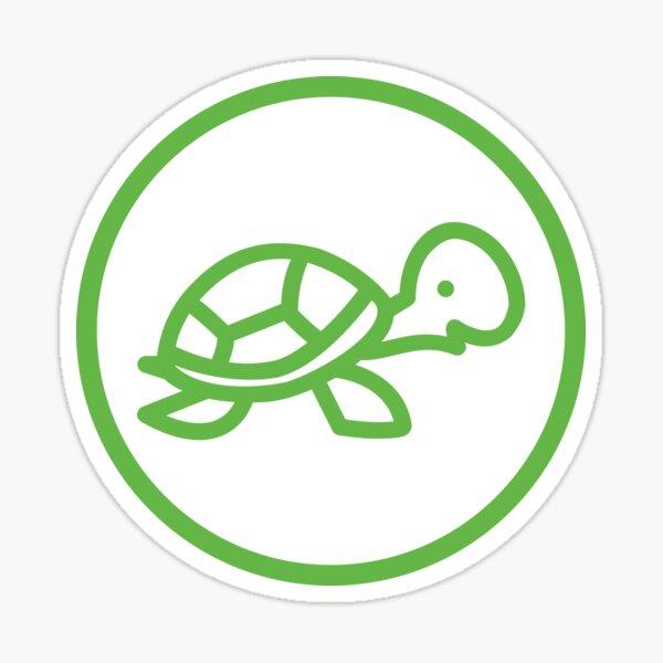 the slowest app (green) Sticker