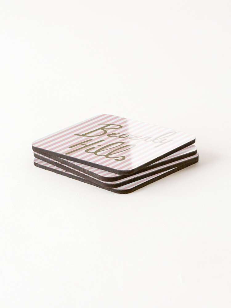 Alternate view of Beverly Hills Coasters (Set of 4)