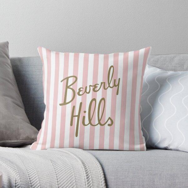 Beverly Hills Throw Pillow