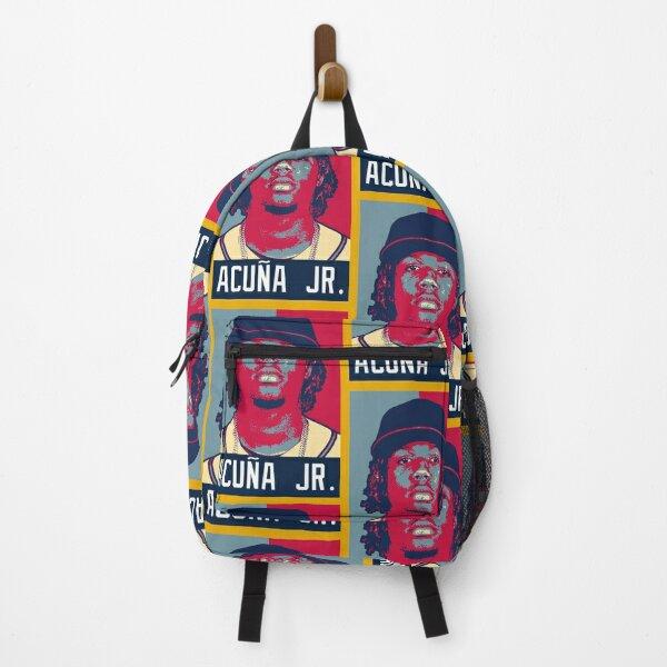 Ronald Acuna Jr. Portrait Artwork Backpack