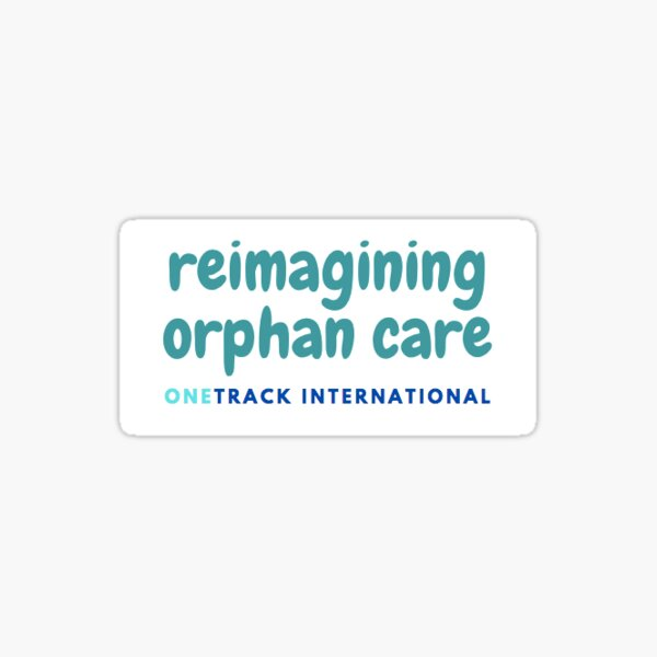 ONETrack Orphan Care Sticker