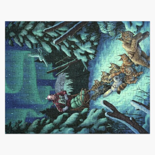 Gilly & the Snowcats Jigsaw Puzzle