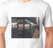 Vintage 1930s IND Subway Train, New York Transit Museum Nostalgia Trip, New York City Unisex T-Shirt