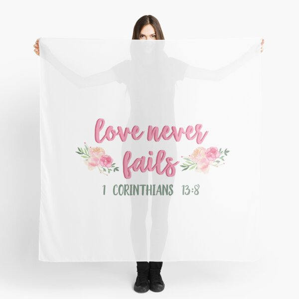 Christian Bible Quote Scarf