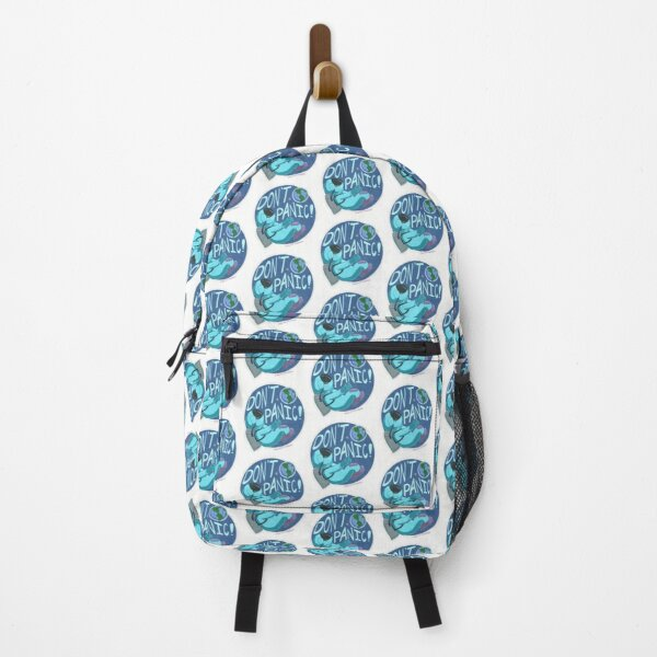 DontPanic Astronaut Sticker Backpack